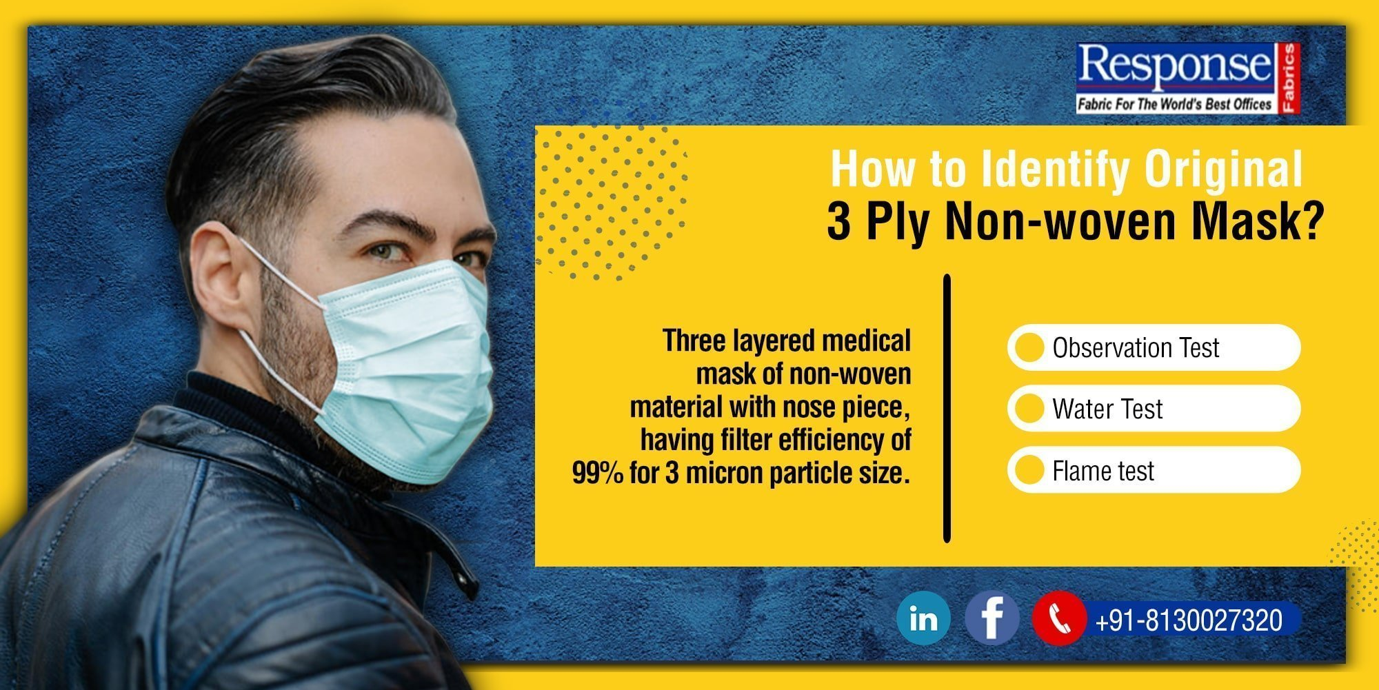 3 ply non-woven mask manufacturers