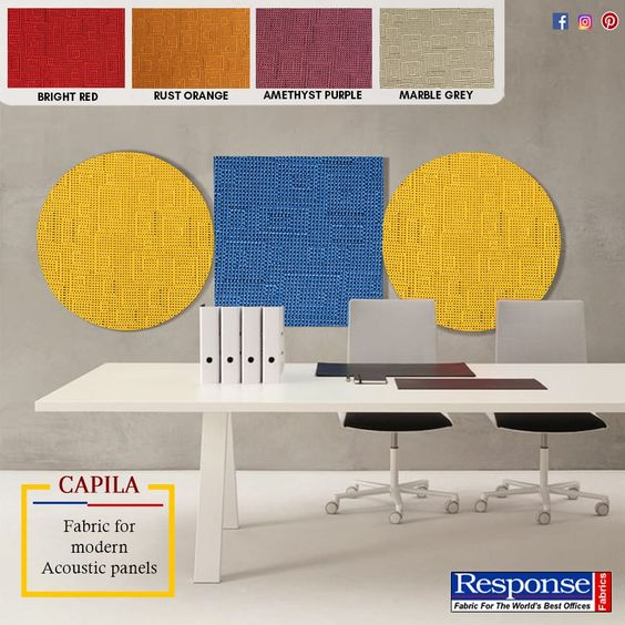 acoustic fabric manufacturers