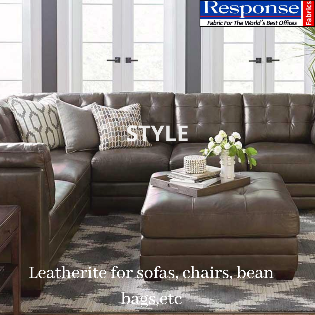 Leatherite sofa fabric manufacturers