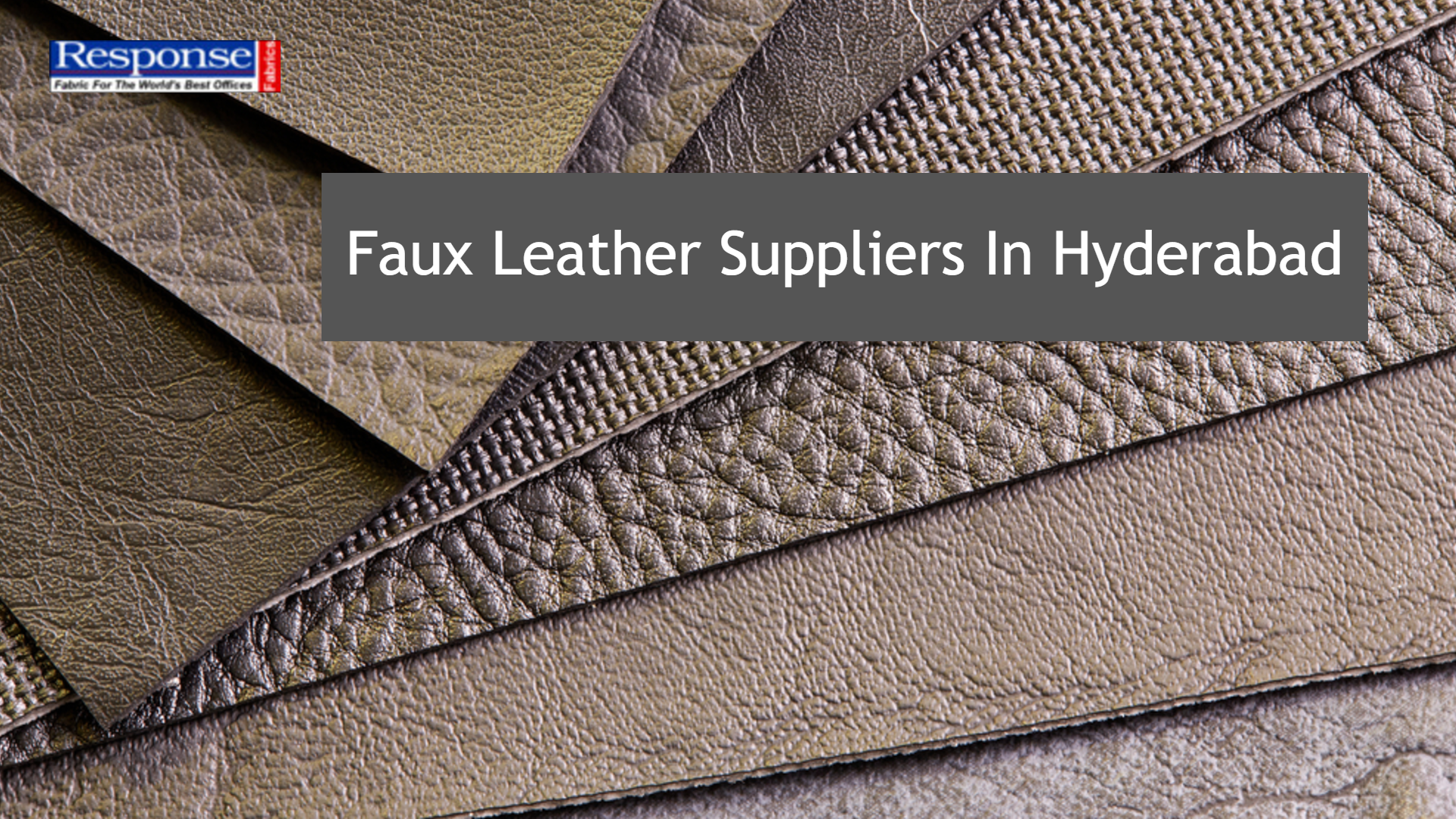 faux leather suppliers in Hyderabad