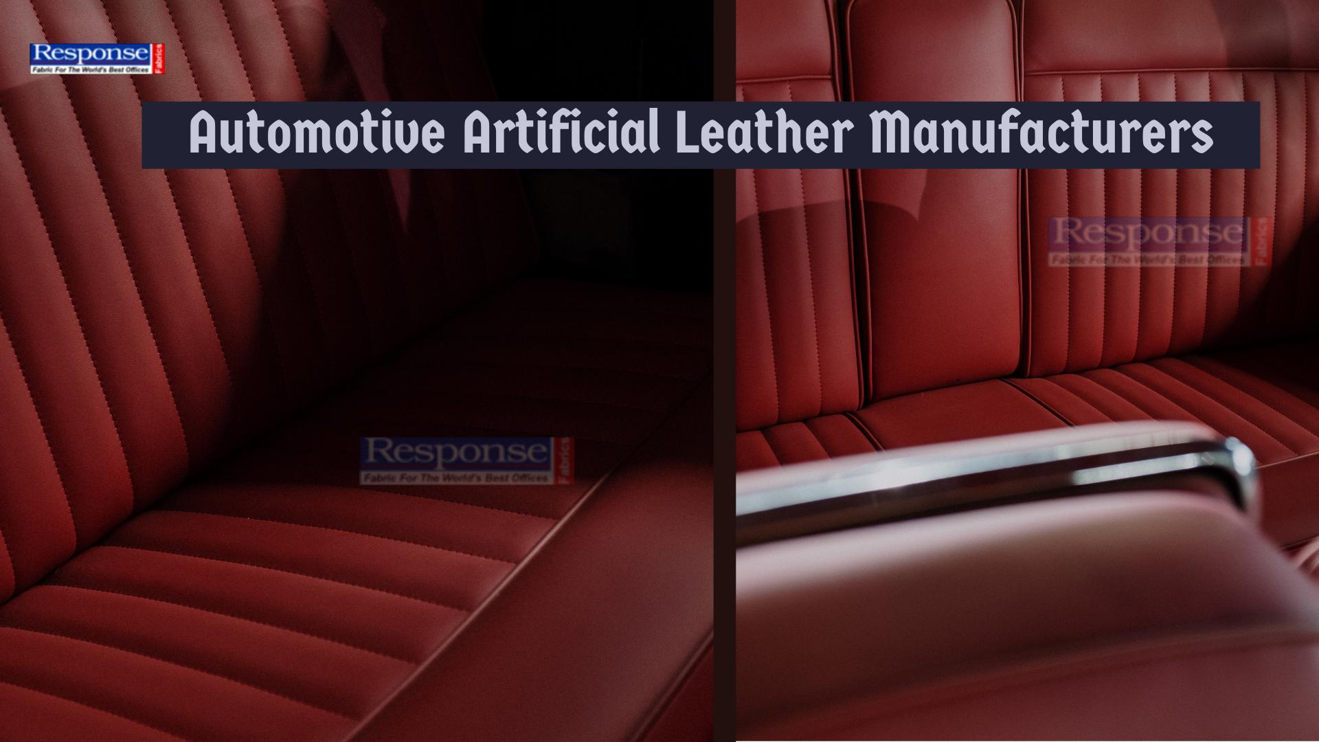 Automotive Artificial Leather Manufacturers