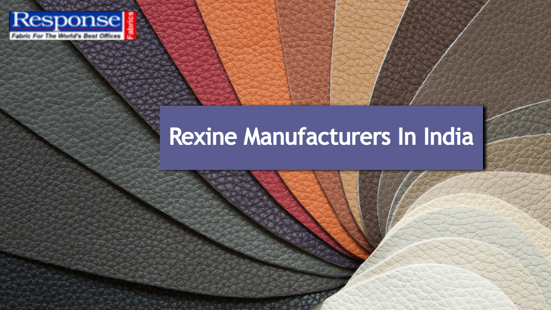 rexine manufacturers in india
